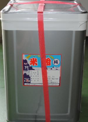 三重化糧 純米飴 25�s缶入り