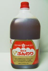 加藤美蜂園本舗 BK-3 ふんわりレンゲはちみつ 2.5�s