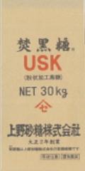 上野砂糖 焚黒糖USK 30�s(粉状加工黒糖)