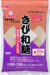 上野砂糖 きびあじ 600g